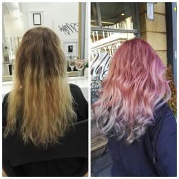 Ennen ja jälkeen väri